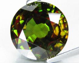 7.16Cts Hi Sparkling Natural Sphene Titanite Round Shape Lovely Collection