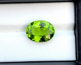 8.37 Carats Top Grade  Natural Olivine Green Natural Peridot