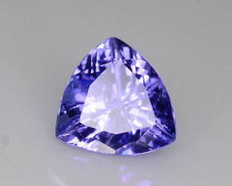 AAA Grade 1.70 ct Tanzanite eye catching Color Ring Size ~ K