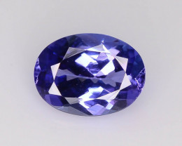 AAA Grade 1.35 ct Tanzanite eye catching Color ~ K