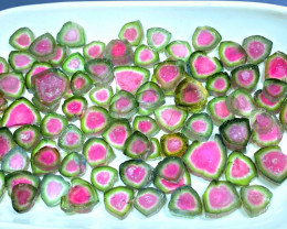 Watermelon Tourmaline Slices Parcel from Paprok Afghanistan - 64 g