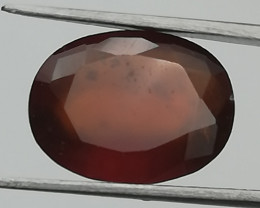 Hessonite, 4.43ct, pretty stone from the center of Africa!