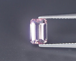 Africa Tourmaline 1.03 Cts Pink Antique Step Cut BGC173