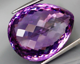 40.25  ct. Natural Top Nice Purple Amethyst Unheated Brazil - IGE Сertified