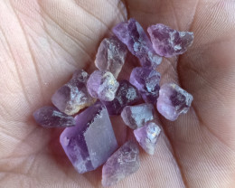 50 cts Natural Amethyst Rough Gemstone Wholesale parcel VA4745