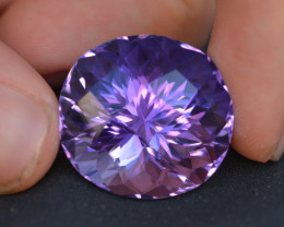 Quality Cutting  41.80  Ct Sparkling Color Natural Amethyst