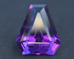 Quality Cutting  21.85 Ct Sparkling Color Natural Amethyst