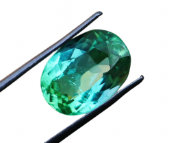 3.60 CTs Natural & Unheated~ Green Tourmaline Gemstone