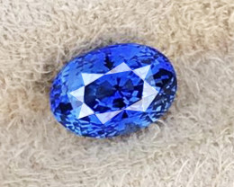 2.710 CT BLUE SAPPHIRE ONLY HEATED 100% CLAEN AIG CERTIFIED