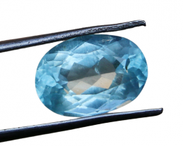 2.95 CTs Natural & Unheated~ Blue Aquamarine Gemstone