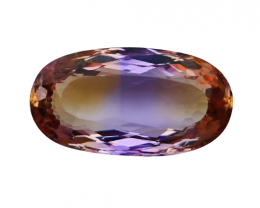 7.80 CTs Natural & Unheated~ Bi Color Ametrine Gemstone
