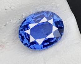 1.120 CT BLUE SAPPHIRE UNHEATED 100% CLEAN NATURAL AIG CERTIFIED