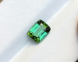 1.30 Ct Natural Greenish Blue Transparent Tourmaline Gemstone