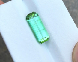 3.50 Ct Natural Greenish Blue Transparent Tourmaline Gemstone