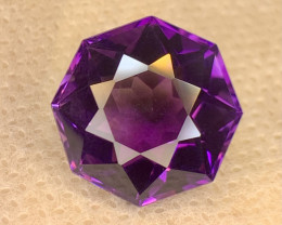 17.45 carat Natural Amethyst Gemstone.
