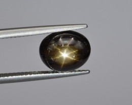 Natural Gold Sheen Star Sapphire 5.89 Cts from Thailand