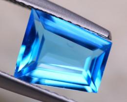 1.64ct Natural Swiss Blue Topaz Fancy Cut Lot B3072