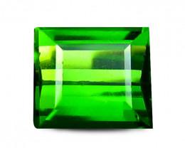 Tourmaline 0.87 Cts Virid green Step cut BGC840
