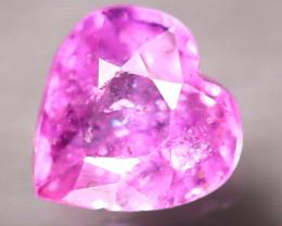 Unheated Sapphire 0.84Ct Natural Heart Shape Pink Sapphire E1716/B32