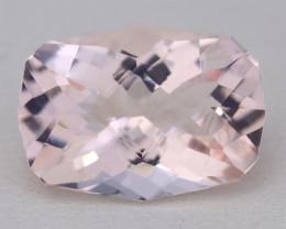 4.30Ct Natural Sweet Pink Morganite VVS Pink Beryl Madagascar B1407