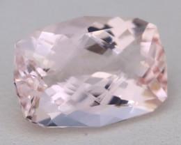 3.75Ct Natural Sweet Pink Morganite VVS Pink Beryl Madagascar B1413