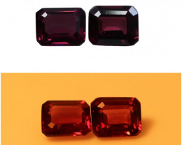 2.25 CTs Natural & Unheated~ Purple To Red Color Change Garnet Gemstone Lot