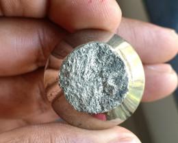 102 Ct Natural Pyrite Druzy Loose Gemstone VA4797