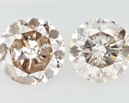 2/0.17 CTS , Champagne Diamond , Diamond for jewelry