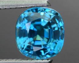 AAA Brilliance 3.53 ct Blue Zircon SKU.16