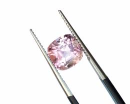 VS Baby Pink Tourmaline Cut Stone