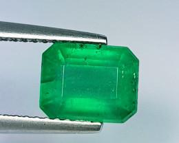 2.06 ct Exclusive Gem Octagon Cut Top Luster Natural Emerald