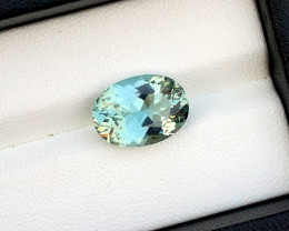 5.25 Carats Natural Aquamarine Gemstones