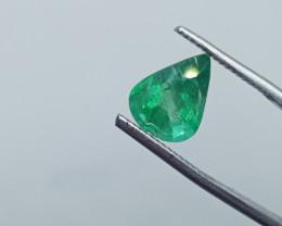 2.34cts Zambian Emerald , 100% Natural Gemstone