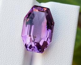 12.61CT Beautiful Cut Amethyst Gemstone~Africa