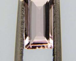 Morganite, 1.09ct, impressing clean stone, high quality!