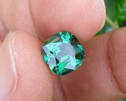 NO HEAT 2.80 CTS MASTER CUT VVS HIGH END TOP GREEN TOURMALINE MOZAMBIQUE
