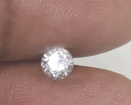 Certified Nat $1300 Fiery 0.62cts SI2  White Round Loose Diamond