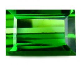 Tourmaline 0.72 Cts Virid green Step cut BGC832
