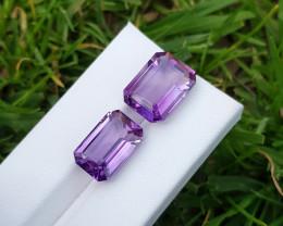 17.5 CTs Natural Amethyst Gemstones◇Brazil