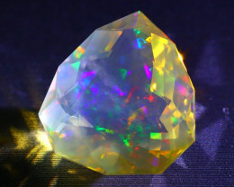 Welo Opal 5.11Ct Natural Ethiopian Faceted Fire Welo Opal A1511