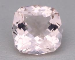 3.37Ct Natural Sweet Pink Morganite VVS Pink Beryl Madagascar A1513