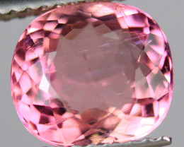 2.69CT 9X8MM Excellent Cut AAA Mozambique Pink Tourmaline-PTA747
