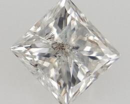 0.25 CTS .Princess Brilliant Cut Diamond