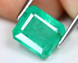 Zambian Emerald 2.36Ct Octagon Cut Natural Green Color Emerald C1504