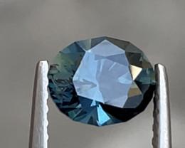 1.25ct Unheated teal sapphire