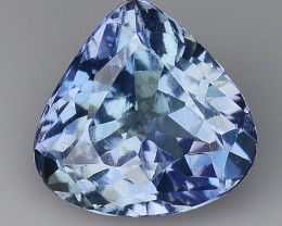 1.40 AIG CERTIFIED TANZANITE TOP CLASS LUSTER GEMSTONE