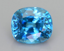 AAA Brilliance 3.12 ct Blue Zircon SKU.16