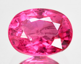 2.83 Cts Natural Mahenghe Hot Pink Spinel Cushion Cut ~UNTREATED~