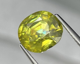 3.28 Cts Excellent Fire Fine Quality Natural Sphene Afghanistan