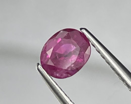 Burma Pinkish Red Top Quality Natural Ruby 0.89 Cts
